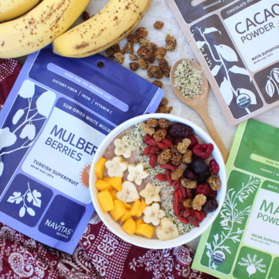 SUPERFOODS GIVEAWAY: Maca + Cacao + Mulberries {CLOSED}